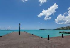 Saint Martin Beach Stock Image