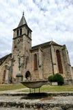 Saint-Martin Saint-Blaise Church in Chaudes-Aigues
