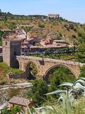 Saint Martin Bridge, Toledo, Spain Stock Image