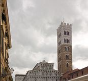 Saint-Martin Cathedral of Lucca Lucca Tuscany Italy royalty free stock image