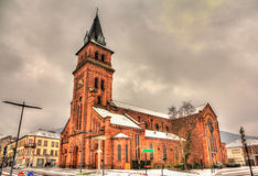 Saint Martin Chruch in Saint-Die-des-Vosges - France Royalty Free Stock Images