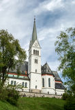 Saint Martin Church in Bled Royalty Free Stock Image