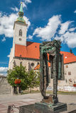 Saint Martin Church in Bratislava Royalty Free Stock Images