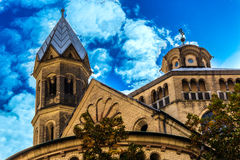 Saint Martin church in Cologne, Germany Royalty Free Stock Photos