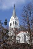 Saint Martin Church at Lake Bled, Slovenia. Royalty Free Stock Photos