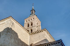 Saint Martin church at Segovia, Spain royalty free stock image