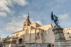 Saint Martin church at Segovia, Spain Royalty Free Stock Photos