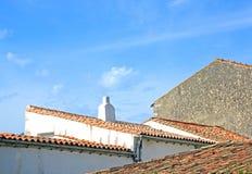 Saint Martin de Ré roofs (La Rochelle France) Stock Images