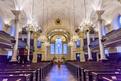 Saint Martin Fields Anglican Church Basilica London England Stock Photography