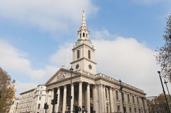 Saint Martin In The Fields at London, England Stock Images