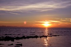 Saint_Martin_Island_Suns-rise_Bangladesh_03 Imagens de Stock