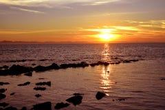 Saint_Martin_Island_Sunsrise_Bangladesh_06 Imagens de Stock Royalty Free