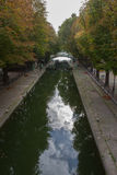 Saint Martin Paris do canal imagens de stock