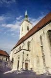 Saint Martin's cathedral, Bratislava, Slovakia Royalty Free Stock Photos