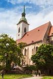 Saint Martin's cathedral in Bratislava, Slovakia Stock Photos