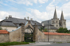 Saint Martin's Cathedral in Spisska Kapitula, Slovakia Royalty Free Stock Images
