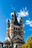 Saint Martin's church in Koln, Germany Stock Photos