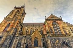 Saint Martin's Church, Colmar, France Stock Photos