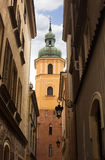 Saint Martin's church in Warsaw Royalty Free Stock Photo