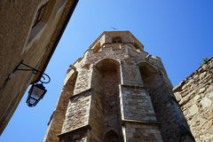 Saint-Martin Tower. In Soreze, France stock photography