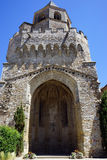 Saint-Martin Tower. In Soreze, France royalty free stock photography