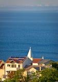 Saint Martin village island of Losinj Royalty Free Stock Image