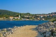 Saint Martin village on Losinj island Stock Photography
