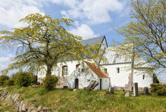 Saint Martins church at Morsum, Sylt Stock Photo