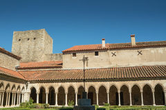Saint Mary Abbey in Arles sur Tech, south of France Royalty Free Stock Photography