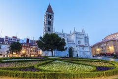 Saint Mary the Ancient Church in Valladolid Stock Photos