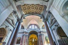 Saint Mary Angels da basílica do arco e mártir Roma Itália foto de stock royalty free