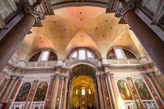 Saint Mary Angels da basílica e mártir Roma Itália imagens de stock