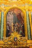 Saint Mary Angels da bas?lica do altar e m?rtir Roma It?lia imagens de stock royalty free