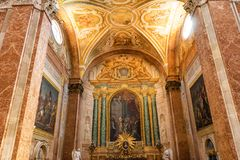 Saint Mary Angels da bas?lica e m?rtir Roma It?lia fotografia de stock royalty free