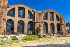 Saint Mary Angels da fachada e mártir Roma Itália foto de stock royalty free