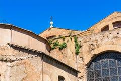 Saint Mary Angels da fachada e m?rtir Roma It?lia imagens de stock