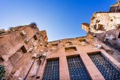 Saint Mary Angels de fa?ade et martyres Rome Italie image libre de droits