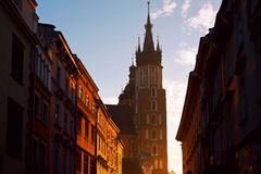 Saint Mary Basilica in Krakow Royalty Free Stock Image