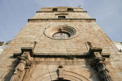 Saint Mary of the Castle Church, Olivenza, Spain Stock Photography