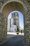 Saint Mary of the Castle Church, Olivenza, Spain Stock Photo