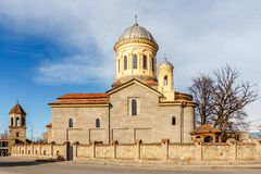 Saint Mary Cathedral, igreja do ortodox, Gori Foto de Stock Royalty Free