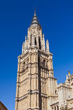 Saint Mary Cathedral of Toledo Spain Stock Image