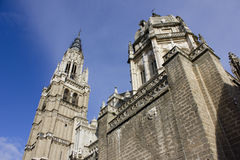 Saint Mary Cathedral of Toledo Spain Royalty Free Stock Images