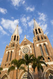 Saint mary cathedral. Yangon. royalty free stock image