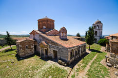 Saint Mary church in Apollonia, Albania Stock Photo