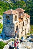 Saint Mary church at Asen's Fortress royalty free stock photo