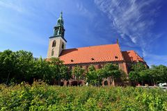 Saint Marys Church - Berlin Stock Photo