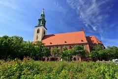 Saint Marys Church - Berlin Stock Photo