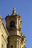 Saint Mary church campanile, San Sebastian, Spain Stock Photography