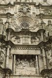 Saint Mary church in Pontevedra royalty free stock photos